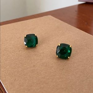 Kate Spade green earrings